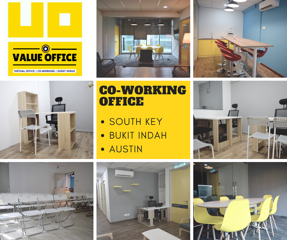 Coworking Space Johor Bahru Jb Shared Office Office For Rent Virtual Office Function Room Training Room Value Office Network